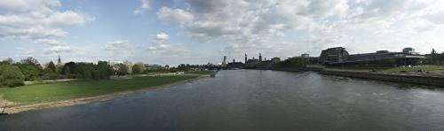 Panorama Dresden Elbe